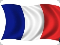 Drapeau nylon France  de 150 x 90