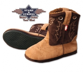 Bottes Chausson Western Fluffy
