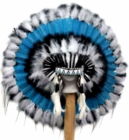 Coiffe indienne Navajo de 36 pouces  Made in USA ( Mod. STILLWATER )