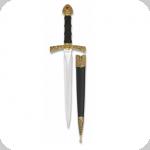 Dague d'ornement classique avec incrustation imitation diamant