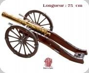 Canon Français Louis XIV  18 ème    (Réplique de 75 cm)