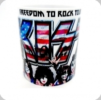 Mug KISS drapeau Américain