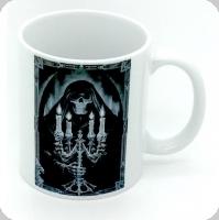 Mug  Skull chandelier