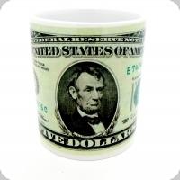 Mug  Dollars américain