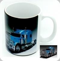 Mug  camion américain  bleu