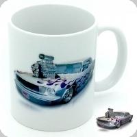 Mug  voiture américaine Gris et violet