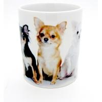 Mug  « Trio de Chihuahua  »