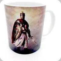Mug chevalier glaive et bouclier