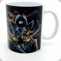 Mug « Skull shérif »