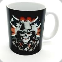 Mug « Skull confédéré »