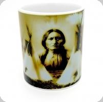 Mug « Siting Bull et Tepee »