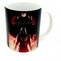 Mug Assassin's creed rouge et noir
