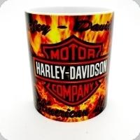 Mug Harley Américan légende Enflammé