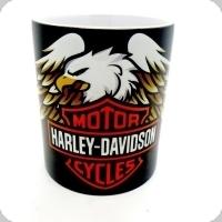 Mug Harley Davidson aigle déployé