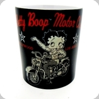 Mug BETTY BOP motor club