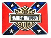 Tapis de souris   « Harley Davidson cofédéré »