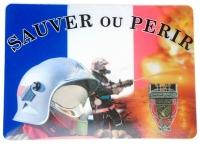 Tapis de souris   « Sauver ou perir patriote »