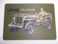 Tapis de souris « JEEP WILLYS »