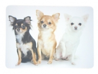 Tapis de souris  « Chihuahua par 3 »