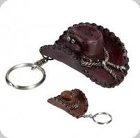 Porte clef chapeau cow boy -  western