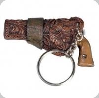 Porte clef pistolet cow boy -  western