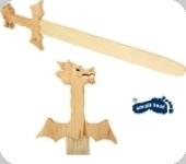Epée en bois Dragon