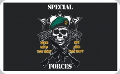 Drapeau US Spécial Forces en Nylon