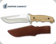 Couteau de 28 cm avec Etui tout Cuir