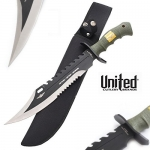 Couteaux Bowie Force Recom marine  United Cutlery