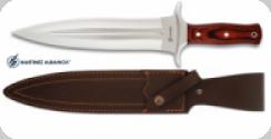 Couteau de chasse 36 cm  manche bois