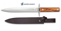 Couteau de chasse 41 cm  manche bois d'Olivier