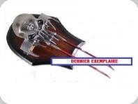 Couteau  fantaisie tête de mort et griffes