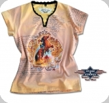 T-Shirt Western Wild Horse