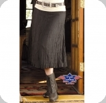 Jupe Western Layla Black