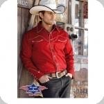 Chemise Western Jack rouge