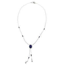 Collier Gouttes d'eau Lapis-Lazuli