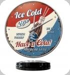Horloge Vintage Ice Cola  de 31 cm