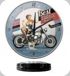 Horloge Vintage Best Garage  de 31 cm
