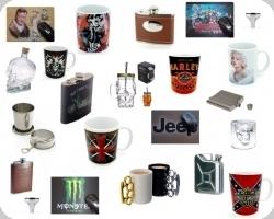 19 * Mug / flasque / verre / tapis de souris