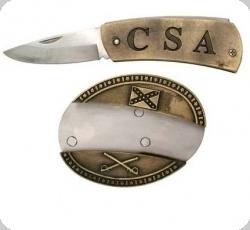 Boucle de Ceinture CSA avec couteau