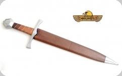 Dague Médiévale Forgé   avec fourreau Cuir