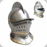 Casque médiéval Burgonet