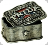 Boite decorative rebel / confédéré
