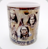 Mug « les grand chefs indien »