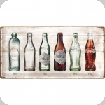 Plaque métal  vintage COCA COLA collection 