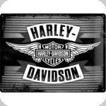 Plaque métal vintage Harley Davidson  Edition Limité  de 40 x 30