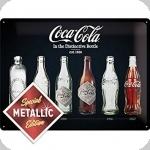 Plaque métal  vintage COCA COLA  40 x 30 XL collection 1899-1597 Edition Limité