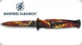 Couteau Pliant Scorpion 3D   Lame de 9 cm