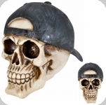 Crâne tête de mort  avec  CASQUETTE Retournée