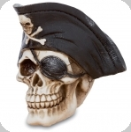 Crane tête de mort  Pirate